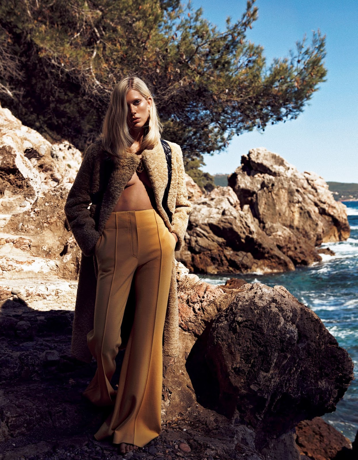 Iselin Steiro by Lachlan Bailey for Vogue Japan October 2016