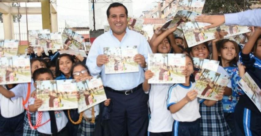 Escolares del Rímac conocen más de su distrito con lectura de libro