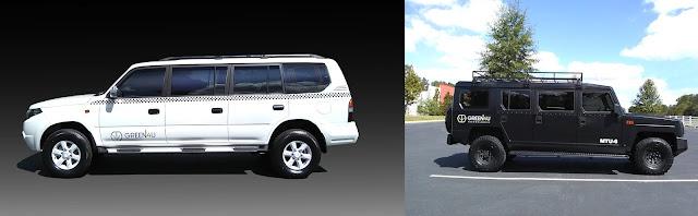 Green4U Enova and MTU-6: two American-made electric SUV