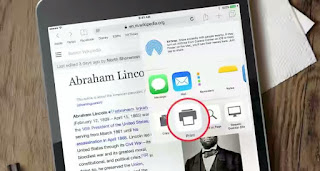 How to print from an iPhone via AirPrint