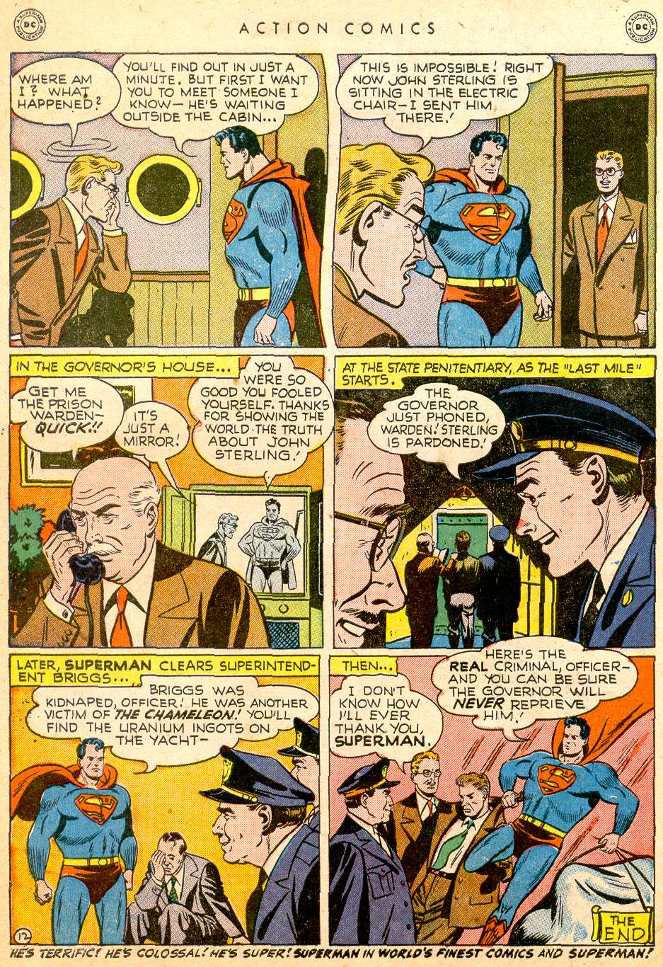 Read online Action Comics (1938) comic -  Issue #126 - 14
