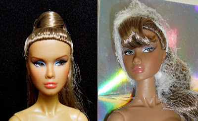 What can you do with ugly bangs of Fashion Royalty dolls?