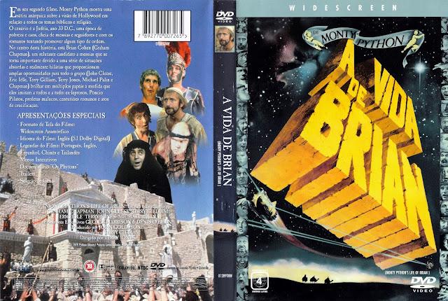 Capa DVD A Vida de Brian
