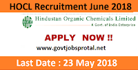 hocl recruitment 2018