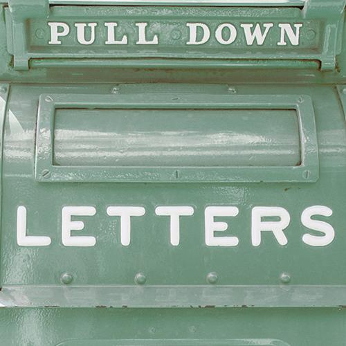 Letters Mailbox | Instagram: LLKCake