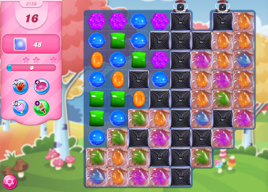 Candy Crush Saga level 3150