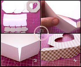 come costruire una scatolina porta cioccolatini