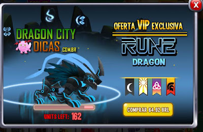Oferta VIP do Dragão Runa