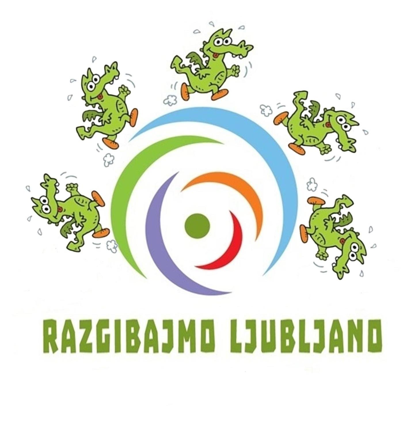 Rezultat iskanja slik za Razgibajmo Ljubljano logo