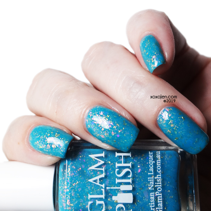xoxoJen's swatch of Glam Polish Polyjuice Potion