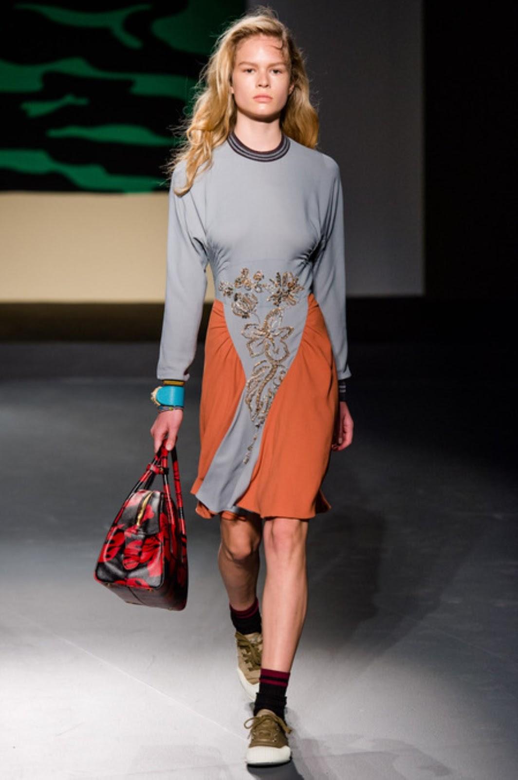 Anna ewers marc jacobs fashion show fw 2014 new york mq runway candids