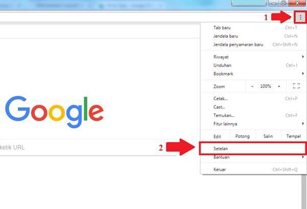 Gambar untuk cara menyinkronkan chrome ke Akun Google