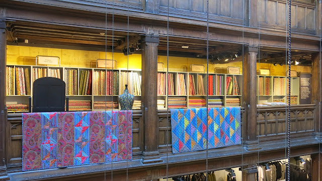 London - Liberty fabrics shop