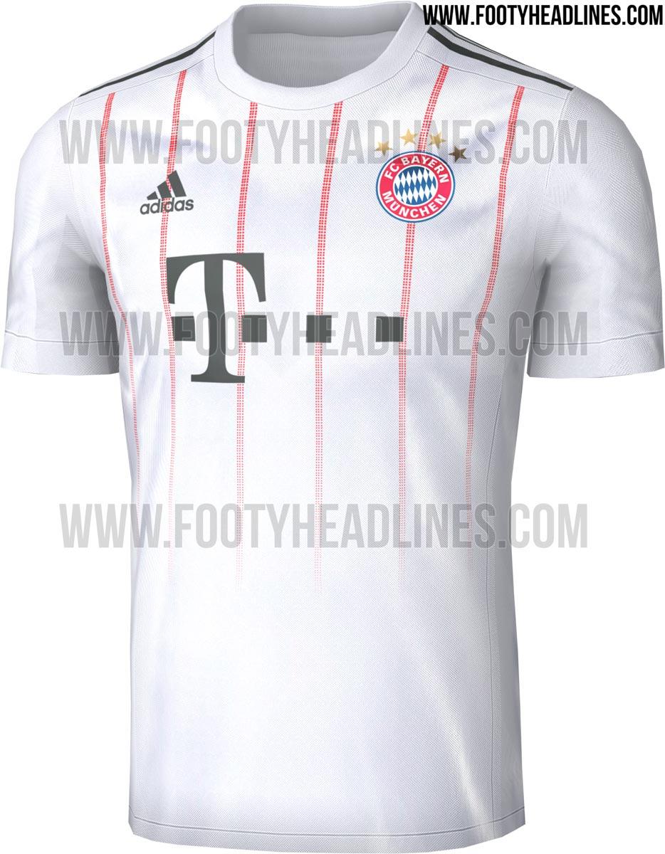 As novas camisas do Bayern de Munique devem ser assim  confira ... bd08435c254be