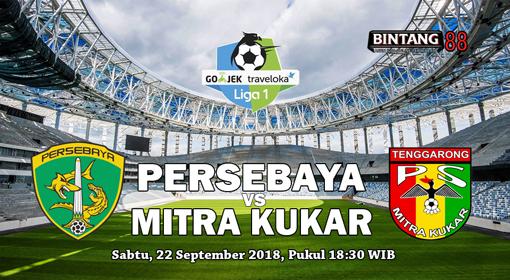 Prediksi Persebaya vs Mitra Kukar 22 September 2018