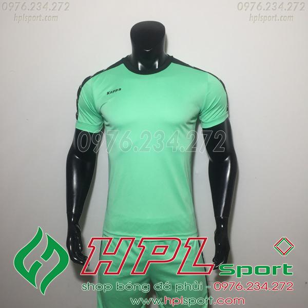 Áo bóng đá ko logo Kappa Hn Xanh Lam