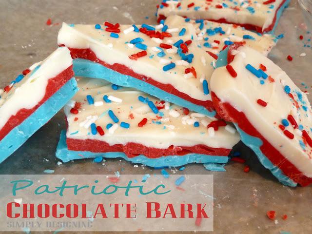 patriotic chocolate bark 2 Sweet Land of Liberty Printable 12