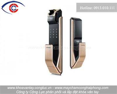 Khóa cửa vân tay Samsung SHS-P718LMG/EN.