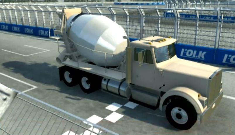 Gavril T-Series - Cement Mixer Truck