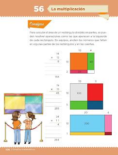 Apoyo Primaria Desafíos Matemáticos 4to. Grado Bloque III Lección 56 La multiplicación