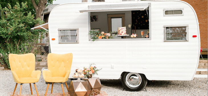 Celebrate Colorfully with this Boho Meets Modern Soirée!