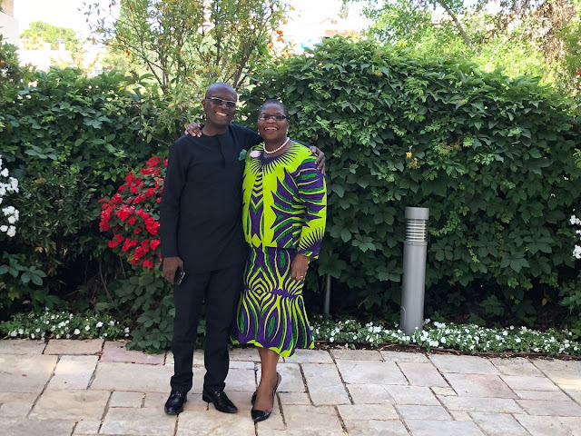 Image result for Oby Ezekwesili and hubby celebrate 30th wedding anniversary