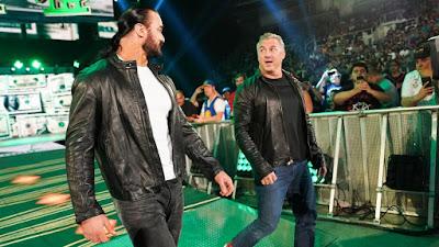 Shane McMahon Corbin Lashley Drew Baron Corbin Bobby Lashley Roman Reigns