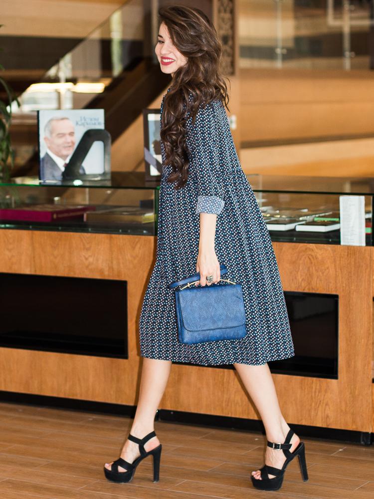 fashion-blogger-diyorasnotes-floral-midi-dress-navy-asos-bag-heels