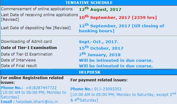 IB ACIO Recruitment Executive/ Grade-II Apply Online Form