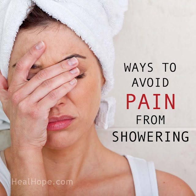 Pain from Showering