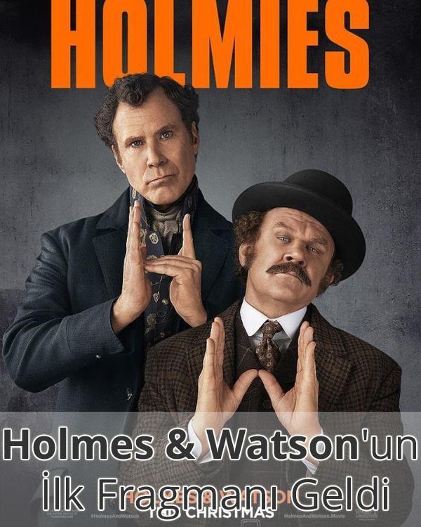 Holmes & Watson Fragman İzle