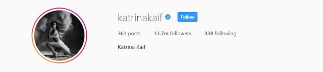 Katrina Kaif Instagram