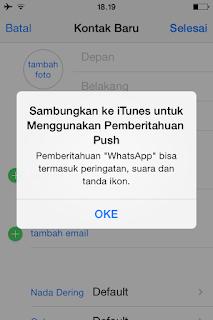 Solusi Push Notifikasi di iPhone Bypass
