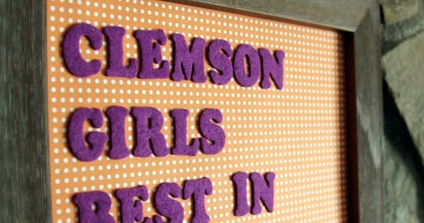 Clemson Girl: Clemson Girls