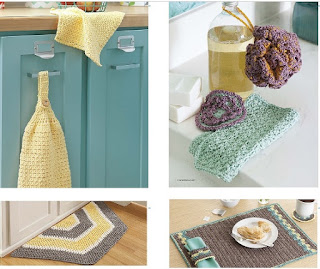 Cotton yarn patterns including towels, rugs and other patterns