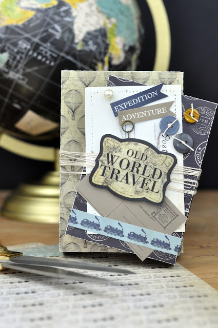 Travel Die Cut Boxes by Jen Gallacher from www.jengallacher.com