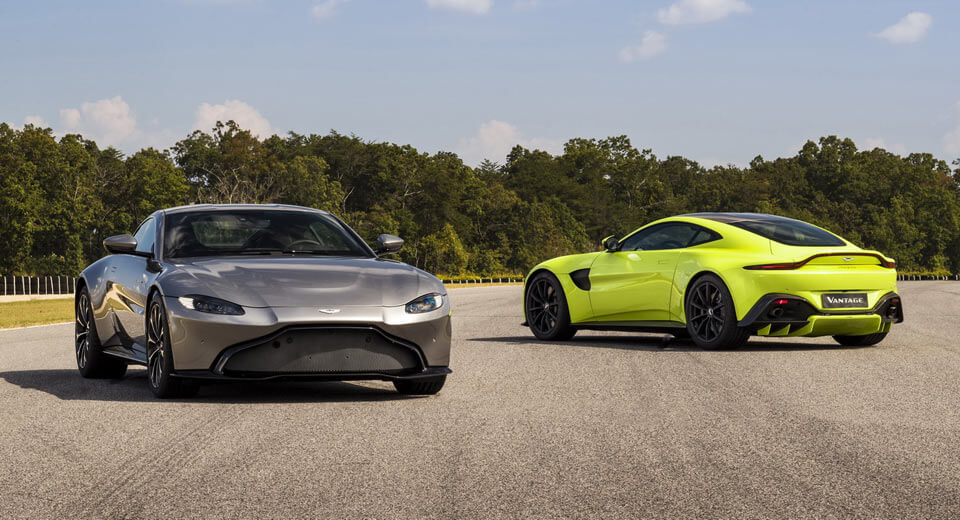 Aston Martin Vantage Volante Render Is Wallpaper Material