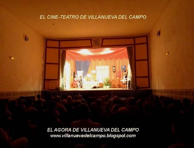 El Teatro de El Agora de Villanueva del Campo