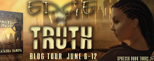 Blog Tour: Edge of Truth by Natasha Hanova with review and giveaway!
