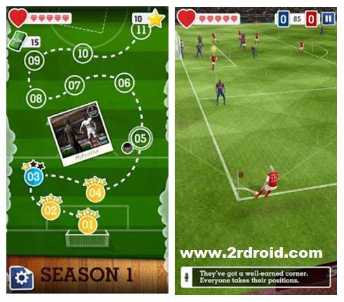 قم بتحميل افضل العاب كرة القدم Score! Hero v1.61 كاملة الأن على هاتفك