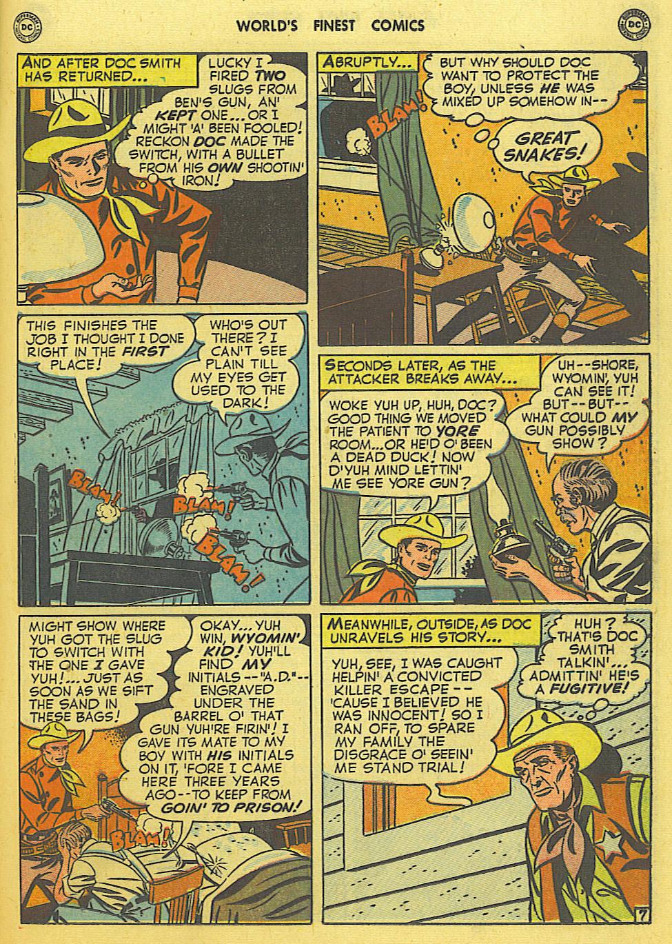 Read online World's Finest Comics comic -  Issue #49 - 46