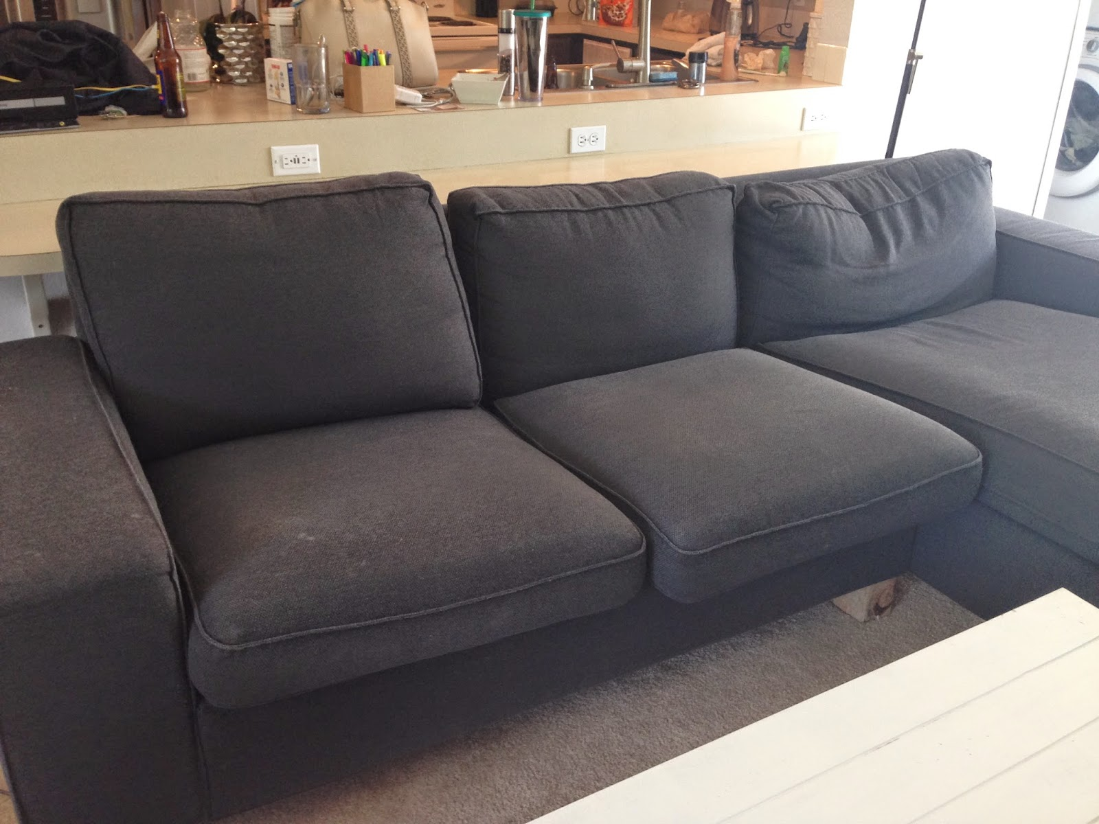 Ikea 5 Seat Sofa Tp Andco Reviewing Our Ikea Kivik Sectional After Almost