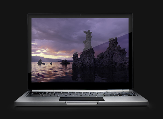 Google Chromebook pixel High resolution Multi-Touchscreen with Gorilla Glass