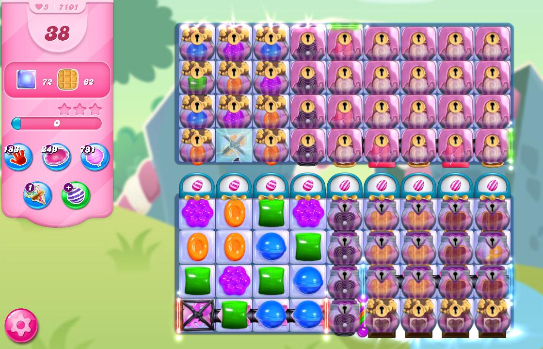 Candy Crush Saga level 7101