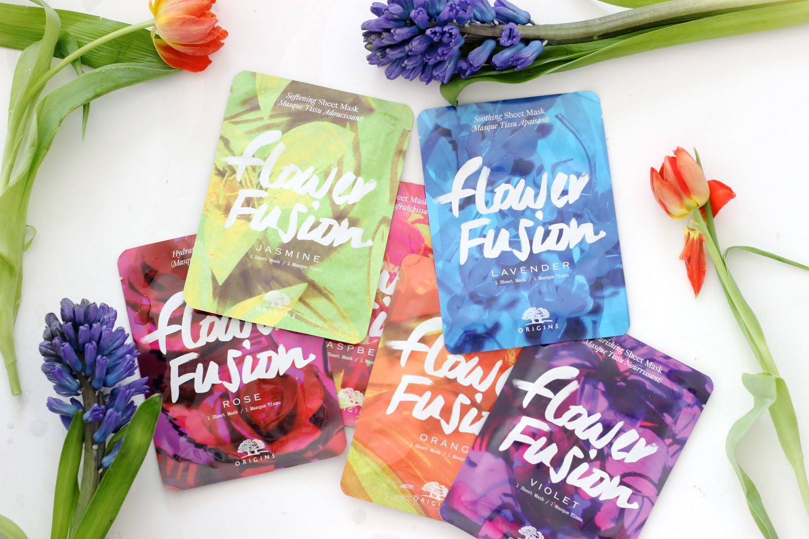 NEW IN: Origins Flower Fusion Sheet Masks.