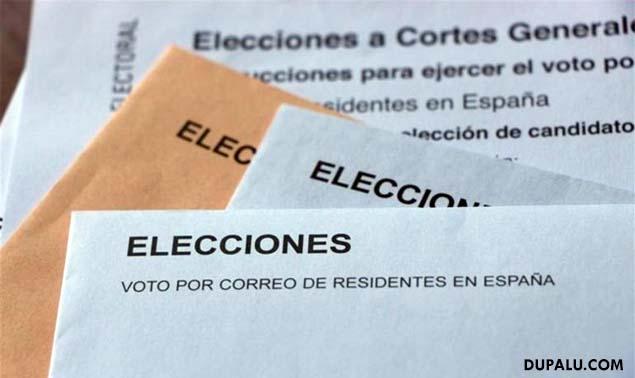 Cómo votar por correo para las elecciones Generales de España del 26J