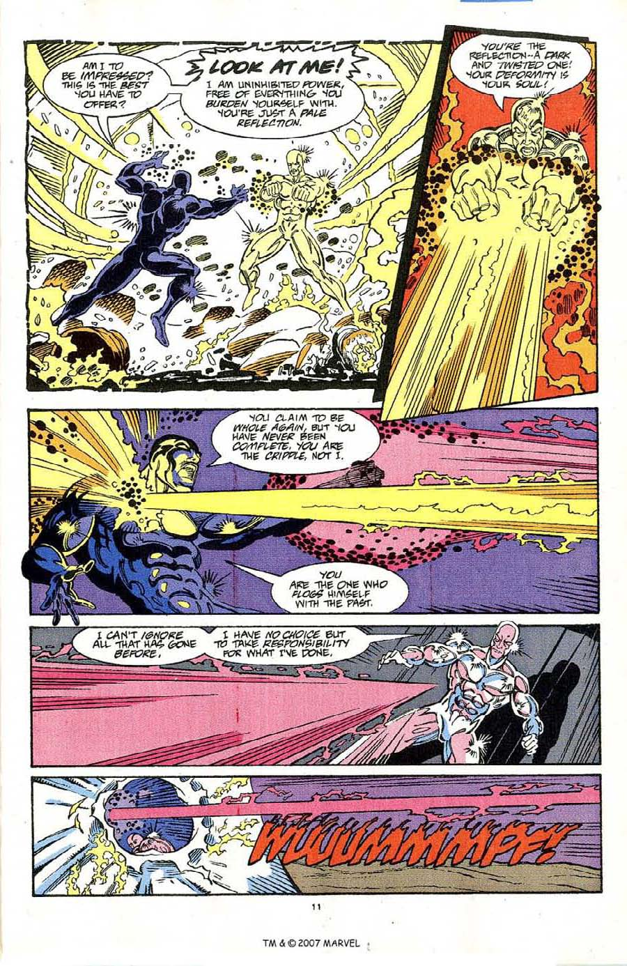 Read online Silver Surfer (1987) comic -  Issue #64 - 13