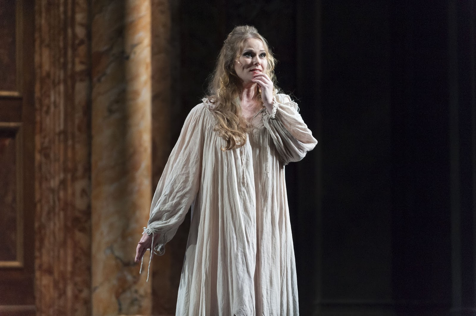 SINGER SPOTLIGHT: Soprano JESSICA PRATT as Gilda in Teatro de la Maestranza's 2013 production of Giuseppe Verdi's RIGOLETTO in Sevilla, Spain [Photo by Jesús Morón, © by Teatro de la Maestranza]