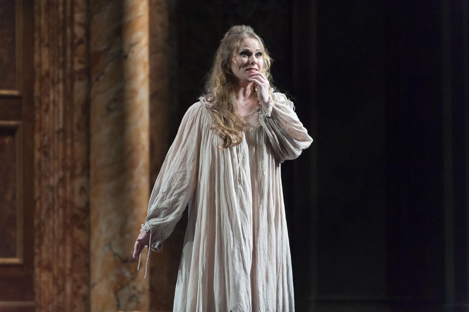 SINGER SPOTLIGHT: Soprano JESSICA PRATT as Gilda in Teatro de la Maestranza's 2013 production of Giuseppe Verdi's RIGOLETTO in Sevilla, Spain [Photo by Jesús Morón, © by Teatro de la Maestranza]