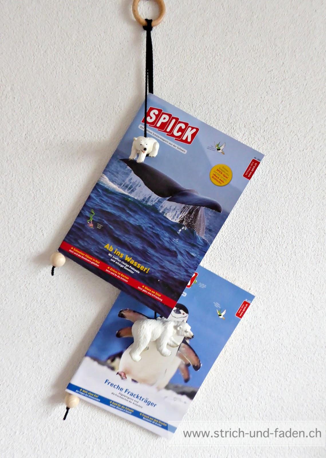 mit Strich und Faden: Zeitschriftenhalter fürs Kinderzimmer {mit ...